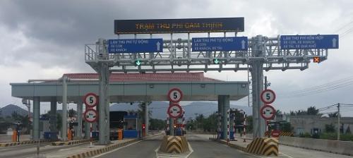 Trạm thu phí Cam Thịnh - Khánh Hòa