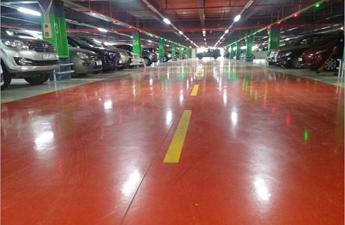 Hệ thống hướng dẫn đậu xe tự động - Sân bay Tân Sơn Nhất